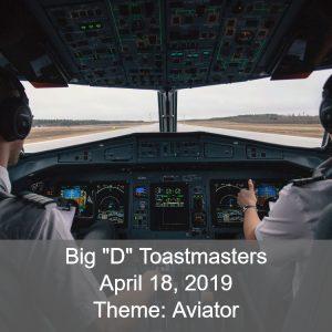 Toastmasters Theme Aviator